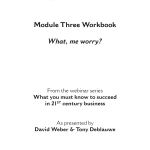Worry workbook COVER